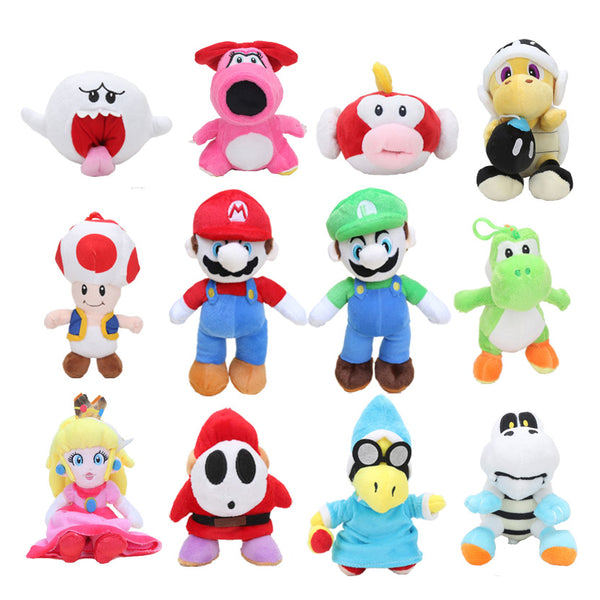 15cm-25cm Super Mario Bros Plush Toys - LADSPAD.UK