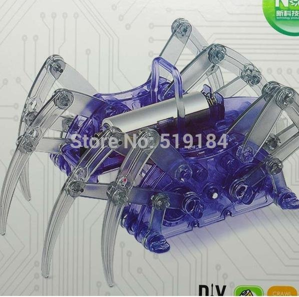 Puzzle Electric spider robot Toy - LADSPAD.COM