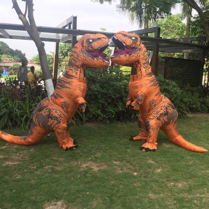 ... INFLATABLE Dinosaur T REX Costumes for women Blowup T-Rex Dinosaur  Halloween Inflatable costume mascot ... ed40dc2628