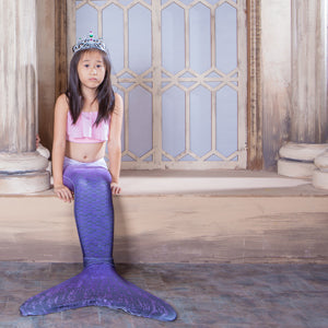Adult and Children's Swimming Mermaid Tails with Bra - LADSPAD.COM