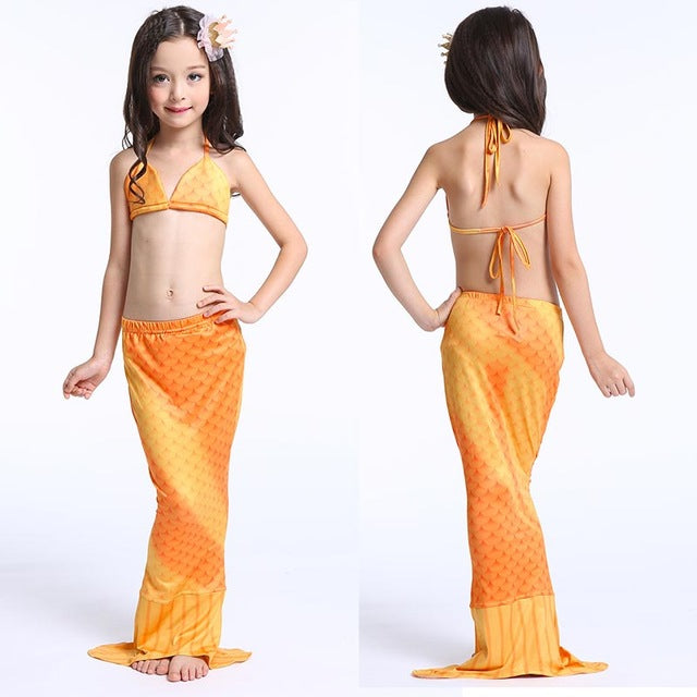 Children Mermaid Costume - LADSPAD.UK