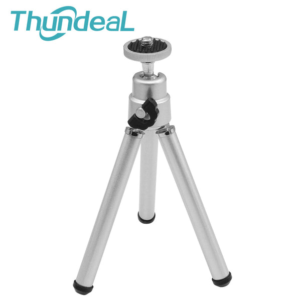 Firm Mini Tripod Portable Two Section Adjustable Portable Projector Table Tripod Digital Camera Phone Holder Mount Bracket Stand