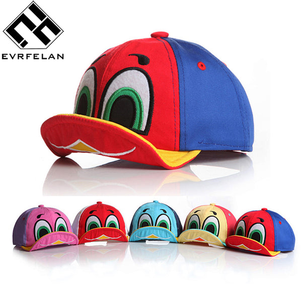 Cute Duck Design Baby Baseball Hat Cap For Boys Girls - LADSPAD.UK