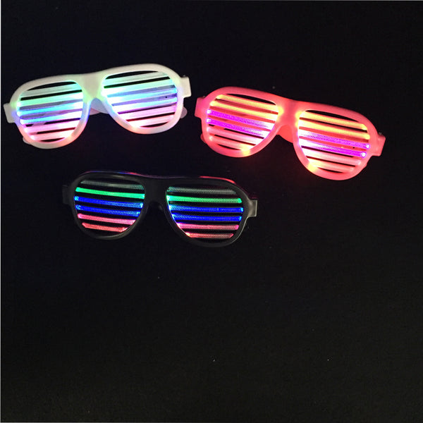 Led Clothes Sound Control Led Flashing Glasses Halloween Glowing Party Mask Decor Bar Voice-activated Luminous - LADSPAD.COM