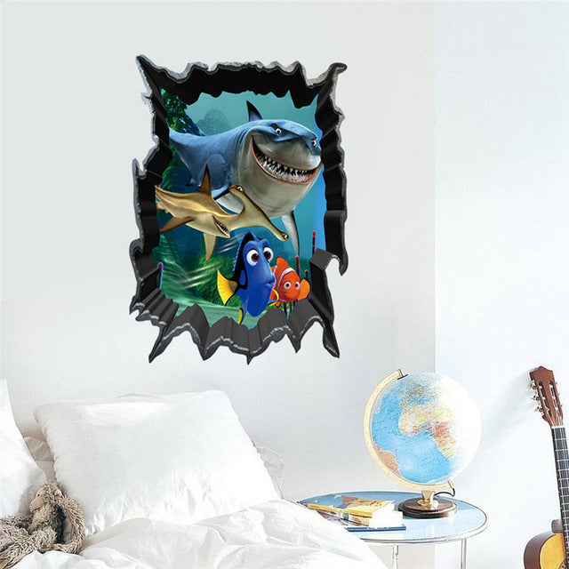 World Park Dinosaurs Wall Sticker - LADSPAD.COM