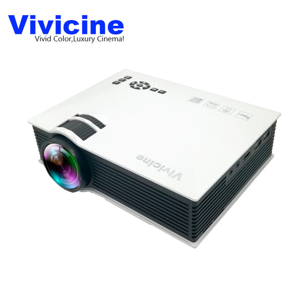 Vivicine UC40 UC40+ 800X480Pixels Home LED Mini Projector,Perfect Cinema HDMI USB LCD HD Video Game Movie Proyector Beamer - LADSPAD.UK