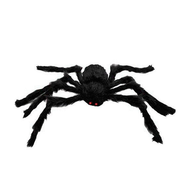 1.5 Meters Bushy Giant Black Spider - LADSPAD.UK