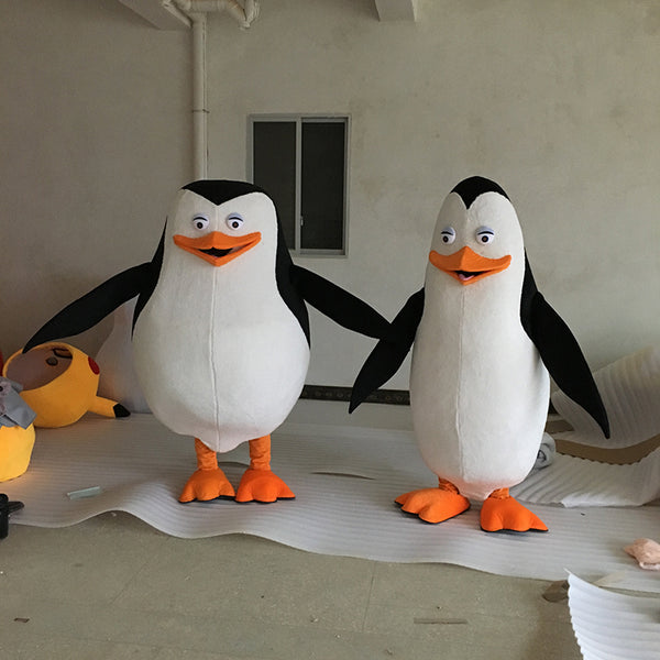 Madagascar Penguin Mascot Costume Fancy Dress for party&Halloween - LADSPAD.UK