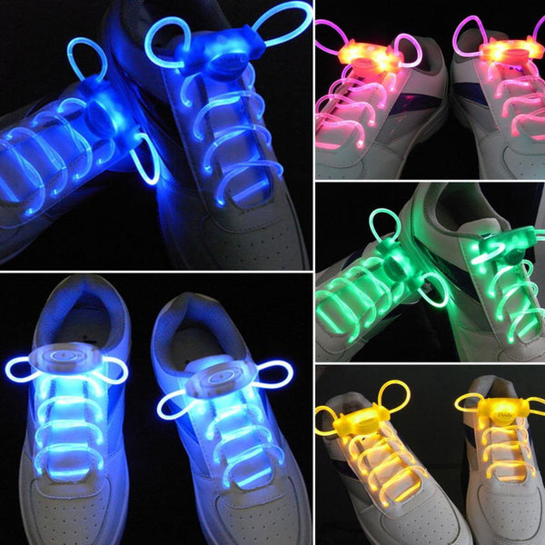 Light up LED Luminous Shoelaces - LADSPAD.UK
