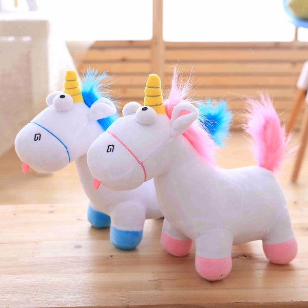 Direct deal Cartoon unicorn plush toy Rainbow pony Dash doll Kawaii toy For Children Gift For Girl - LADSPAD.UK