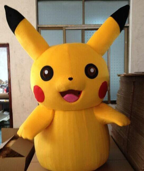 New Pikachu mascot costume Fancy dress  Adult&Child size - LADSPAD.COM