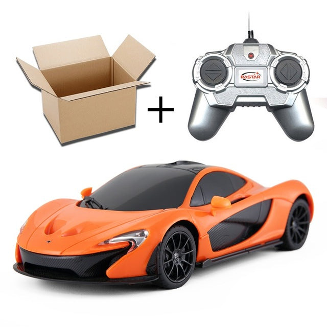 Rastar 1:24 4CH RC Cars Collection Radio Controlled Cars Machines On The Remote Control Toys For Boys Girls Kids Gifts 2888 - LADSPAD.COM