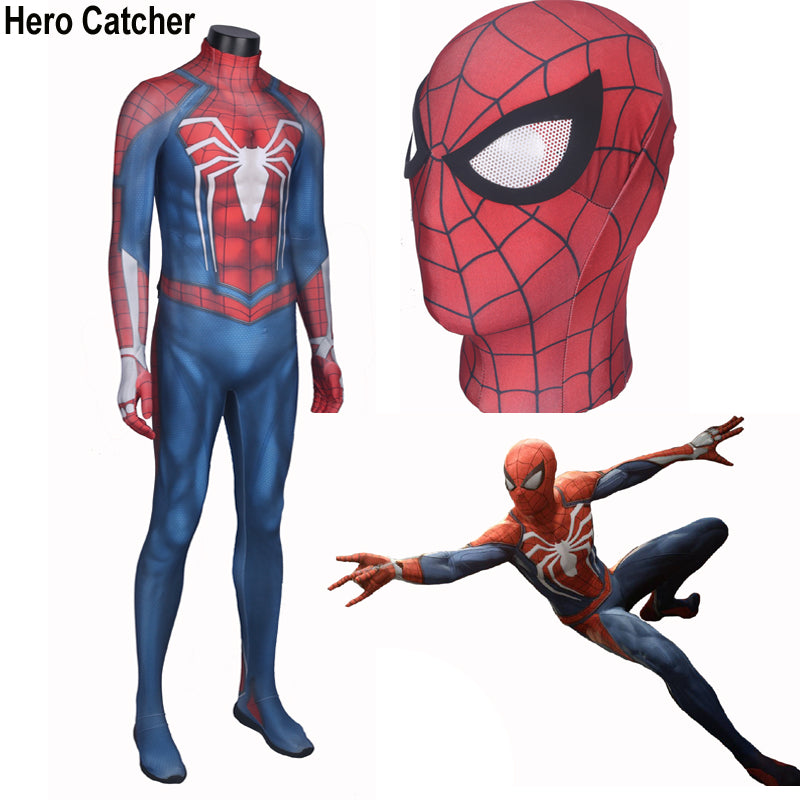 Hero Catcher High Quality New Insomniac Spider-Man Costume Insomniac Spider  Man Suit Newest Spiderman Suit Spiderman PS4