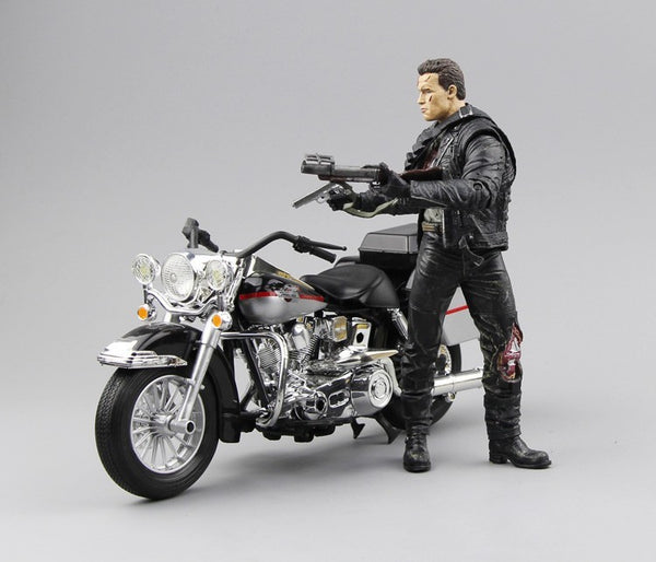 Arnold Schwarzenegger The Terminator 2 T800 Action Figure - LADSPAD.UK