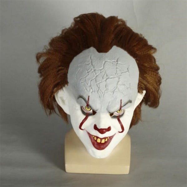 Stephen King's IT Mask Pennywise Clown Halloween