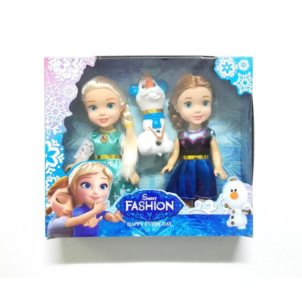 Mini Princess Elsa Anna Olaf Baby Dolls