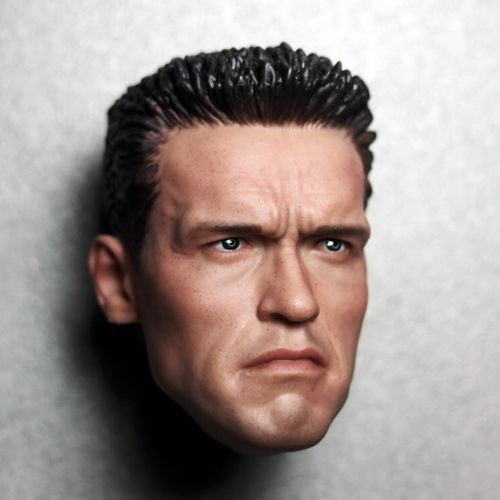 1/6 Scale Arnold Schwarzenegger Male Head - LADSPAD.UK