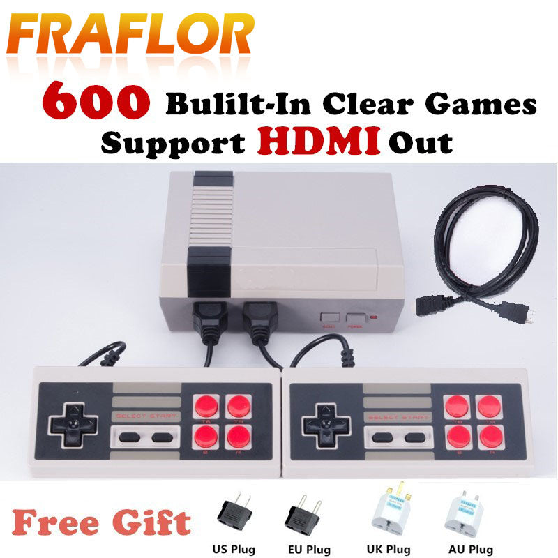 HDMI Retro Classic Game Consoles with 600+ Built-In Nostalgic Games - LADSPAD.UK