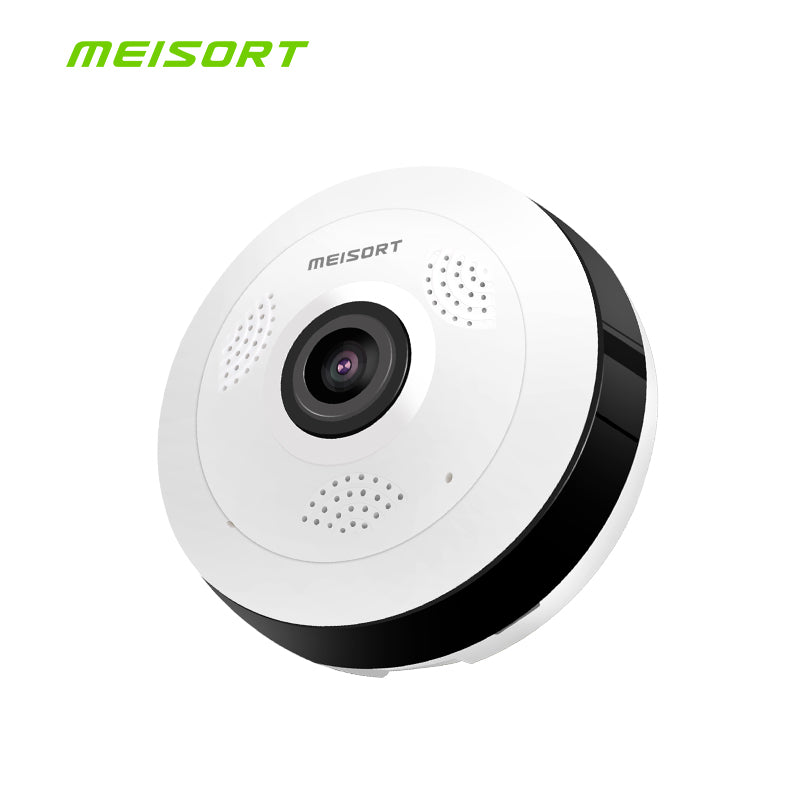 Fisheye VR Panoramic Camera HD 960PH Wireless Wifi IP Camera Home Security Surveillance System Camera Wi-fi 360 degree Webcam - LADSPAD.UK