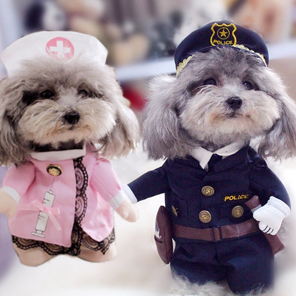 Halloween Dog Clothes for Small Dogs Funny Halloween Dog Costumes Puppy Coats Jackets Party Chihuahua Clothes 9CY20 - LADSPAD.COM