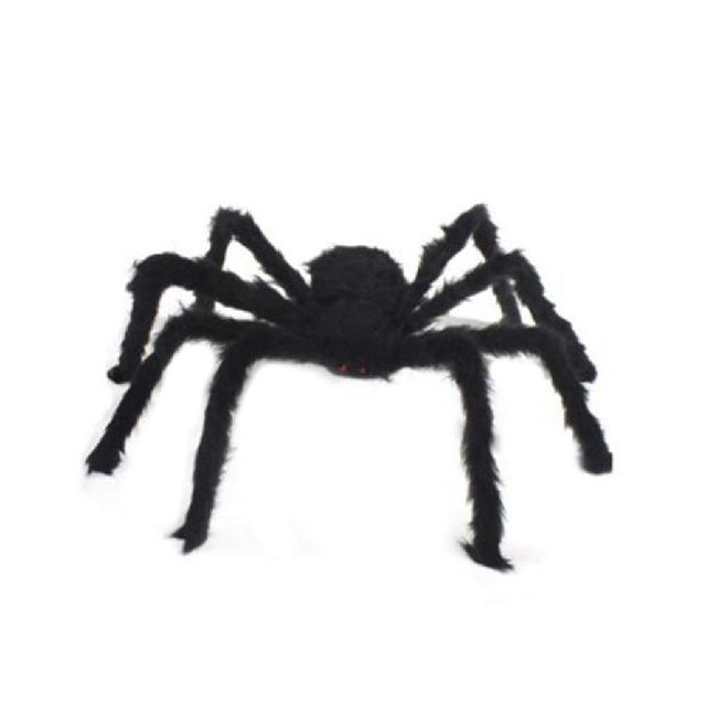 Spider Halloween Decoration Haunted House Prop Indoor Outdoor Black Giant 3 Size VQW8932 - LADSPAD.UK