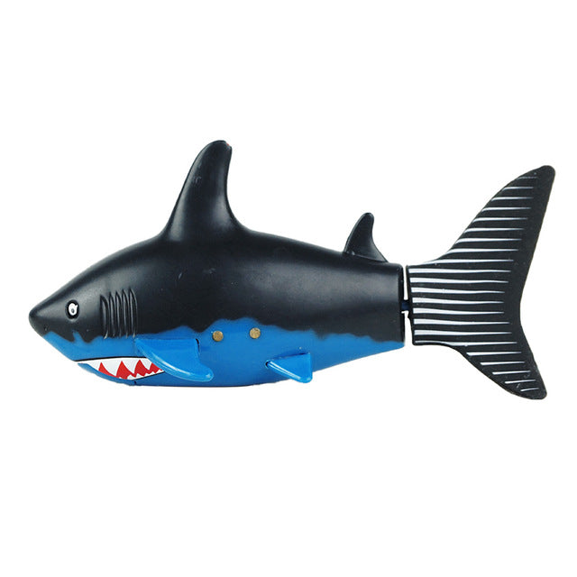 Lovely Kids Baby RC Shark Fish Coke Can Radio Control RC Mini Electronic Shark Fish Boat Children Toy Gift 3CH 4 Way 2017 - LADSPAD.UK
