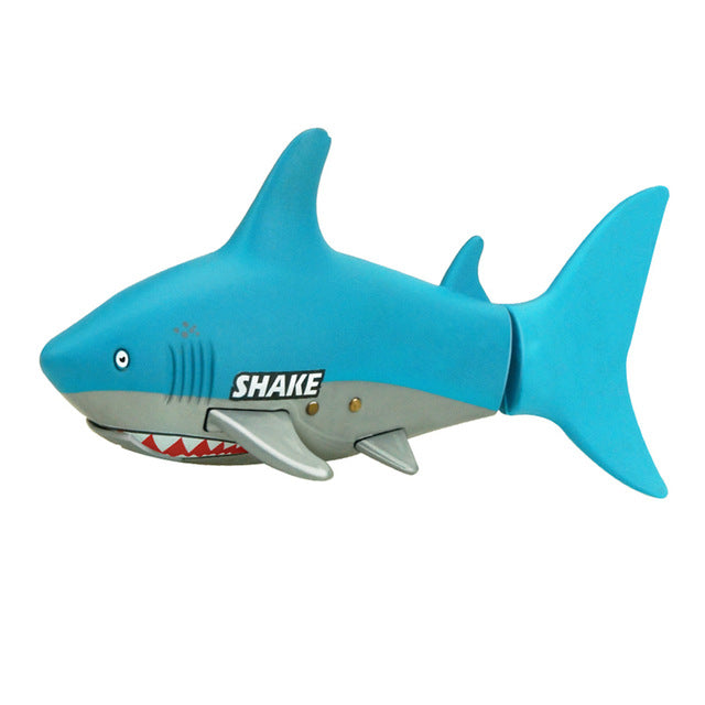 Lovely Kids Baby RC Shark Fish Coke Can Radio Control RC Mini Electronic Shark Fish Boat Children Toy Gift 3CH 4 Way 2017 - LADSPAD.COM