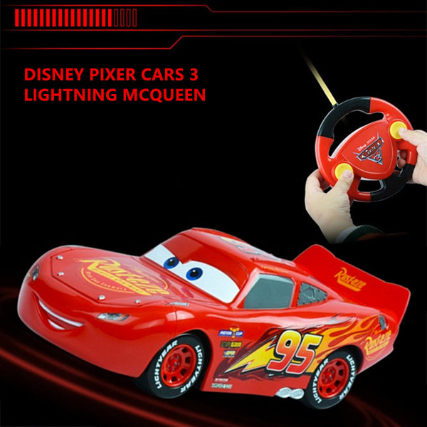 New Disney Pixar Kids RC cars Mcqueen Jackson Cruz cars 3 Xmas Gifts Toys for Boys Children Remote Controller No Box - LADSPAD.COM
