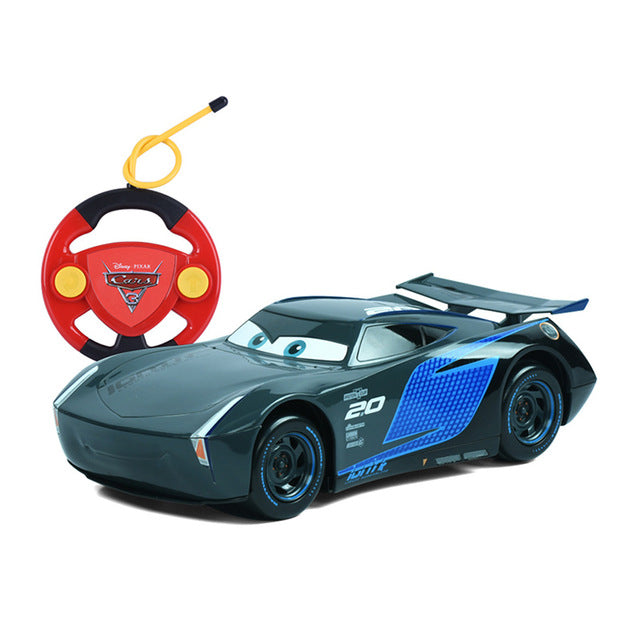 New Disney Pixar Kids RC cars Mcqueen Jackson Cruz cars 3 Xmas Gifts Toys for Boys Children Remote Controller No Box - LADSPAD.UK