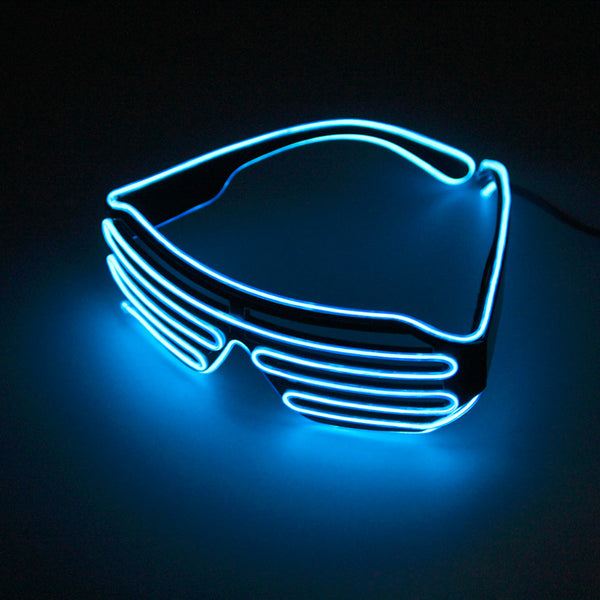 6269b7651941 2017 Plastic LED Glasses Light Up Shades Flashing Rave Wedding Party Indoor    Outdoor Night Shows