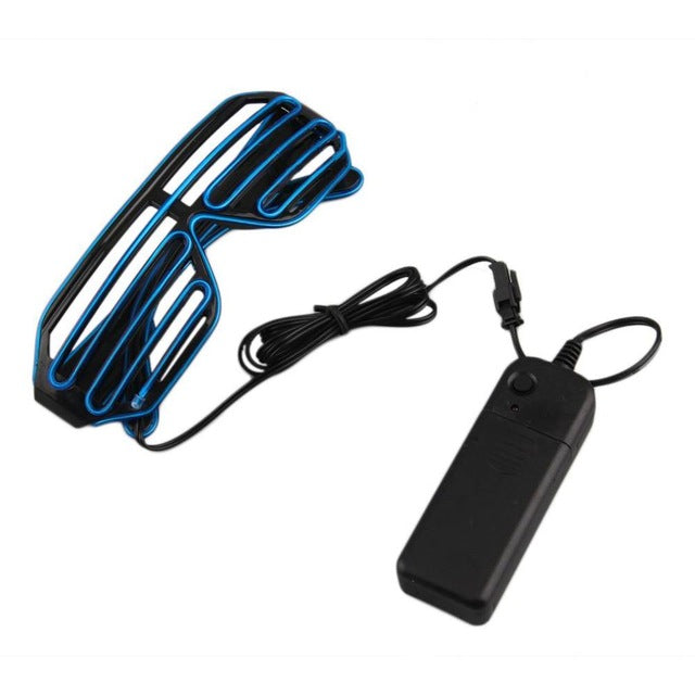 Plastic LED Glasses Light Up Shades Flashing Rave Wedding Party Indoor & Outdoor Night Shows & Activities Christmas Decors - LADSPAD.COM