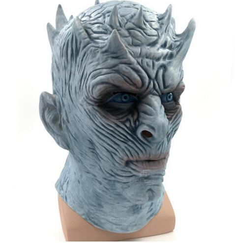 The Night King White Walker Game of Thrones Latex Mask