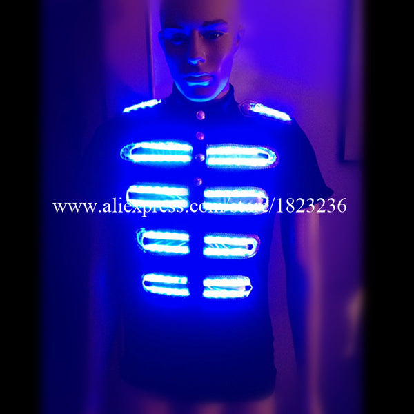 2 Sets Colorful Led Luminous Growing  Stage dancewear - LADSPAD.COM