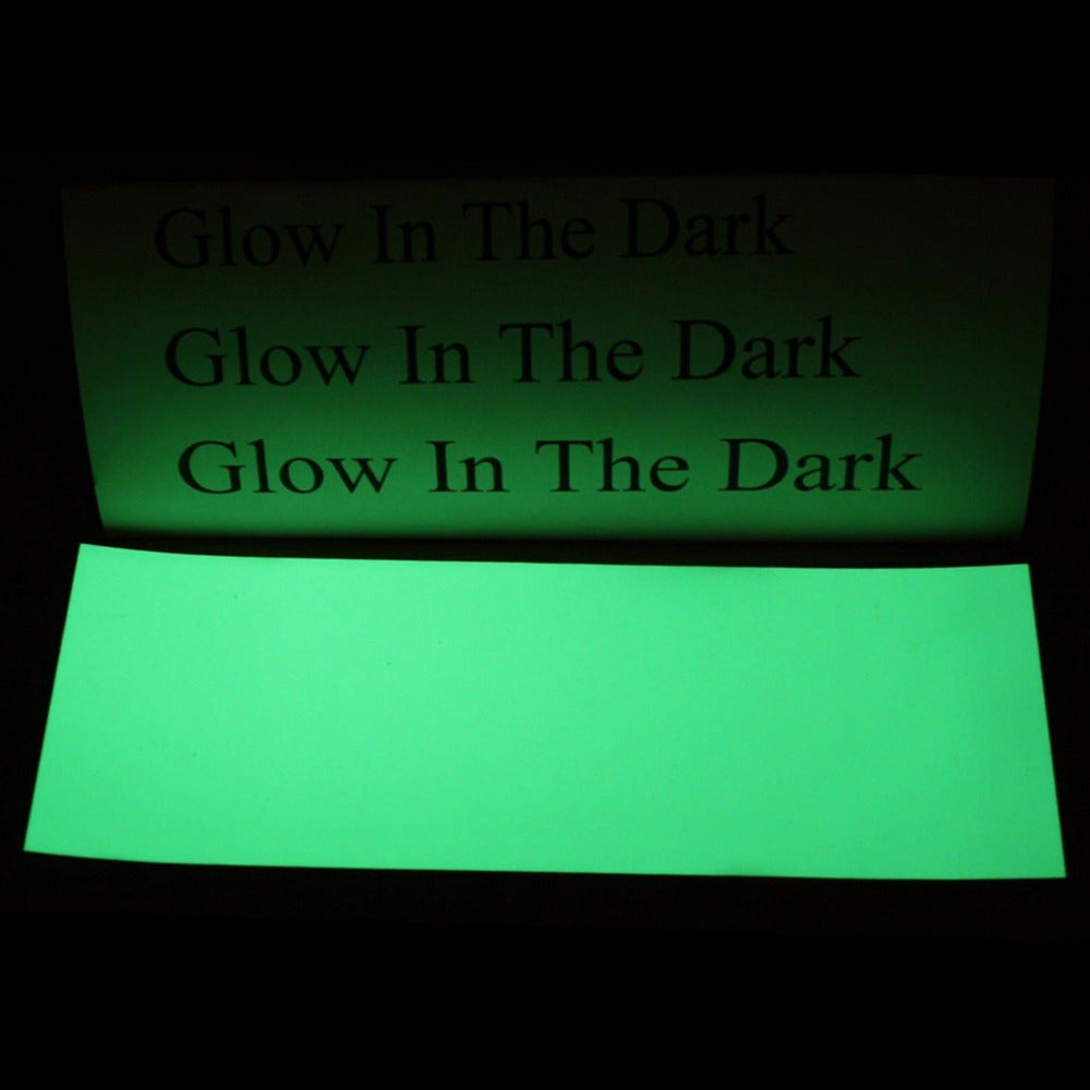 NEW 8*3 inch Luminous Green Glow In The Dark Tape Self Adhesive Sticker Sheet - LADSPAD.COM