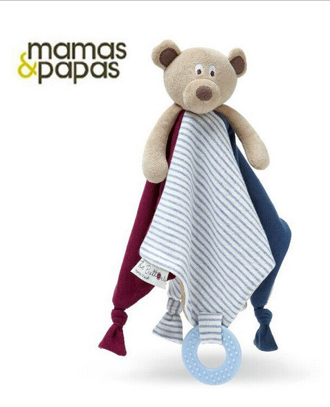 Mamas and Papas Infant Soothing Teether Plush Toy