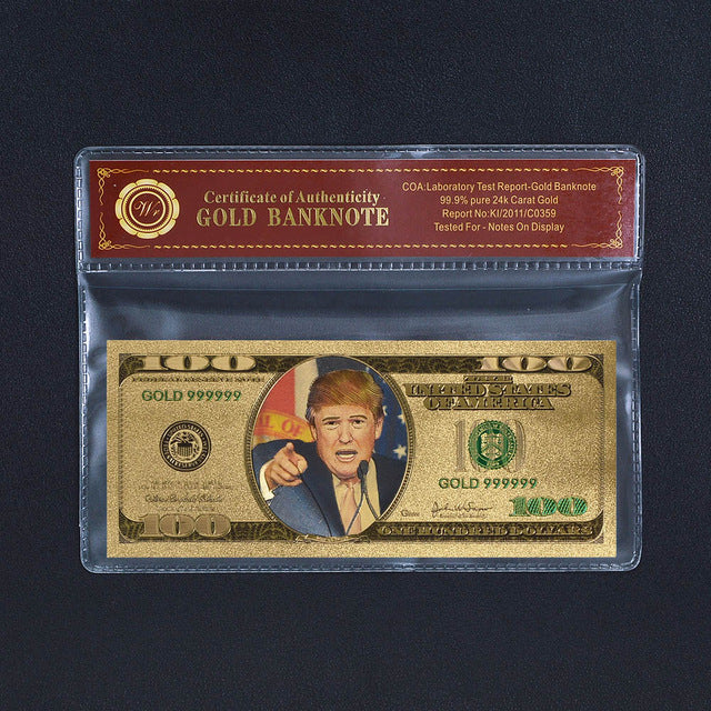 Colored banknote bill America Dollars - LADSPAD.UK