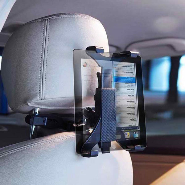 Car Back Seat Headrest Mount Holder 7-13 inch for iPad / Galaxy Tablet / Samsung galaxy Tab - LADSPAD.COM