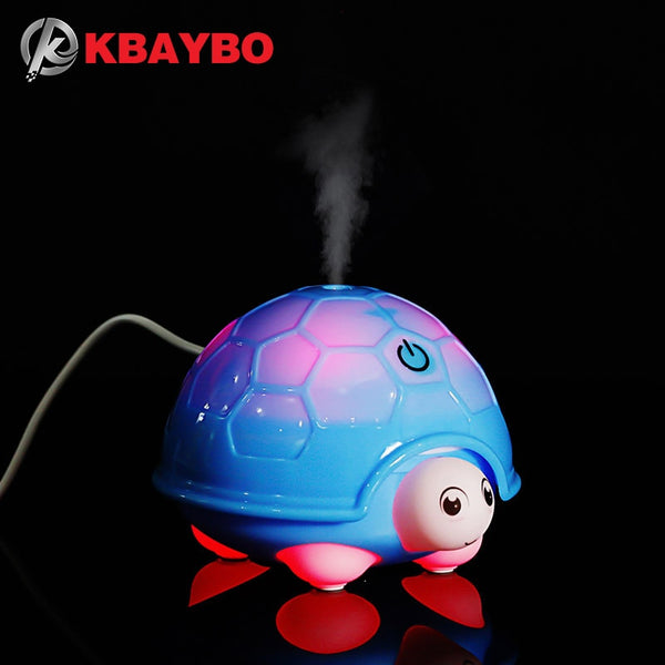 160ML Ultrasonic Humidifier USB Car Humidifier Mini Aroma Essential Oil Diffuser Aromatherapy Mist Maker Home Office - LADSPAD.UK