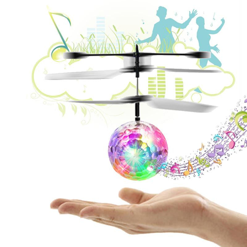 RC Flight Ball Flying Ball Induction Aircraft Light Mini Heli Toy Shine Musical Shape Gift Children's RC Toy - LADSPAD.COM