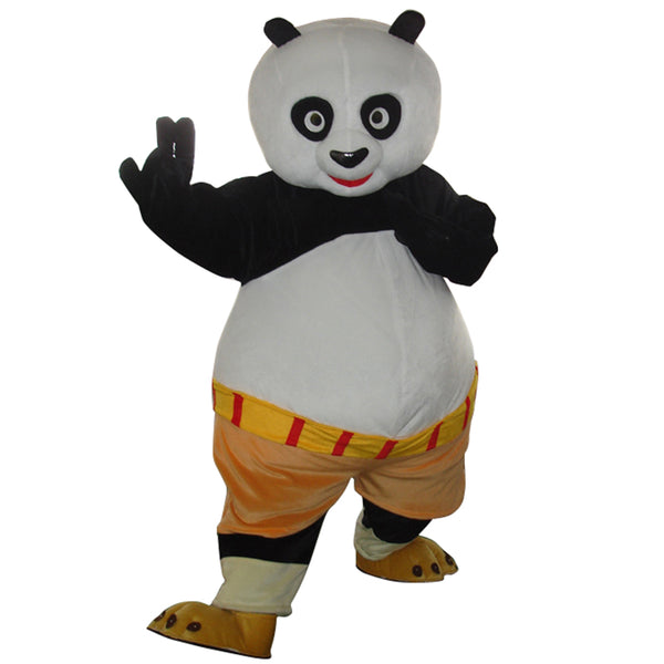 High quality adult Kungfu Panda Mascot Costume Kung Fu Panda Mascot Costume Kungfu Panda Fancy Dress Free Shipping - LADSPAD.UK
