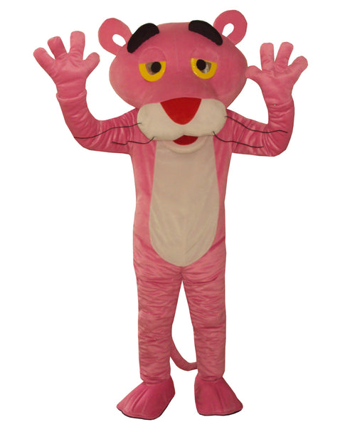 Adult Pink Panther Mascot Costume sales Fancy Dress Pink Panther Mascot Costume Free Shipping - LADSPAD.UK
