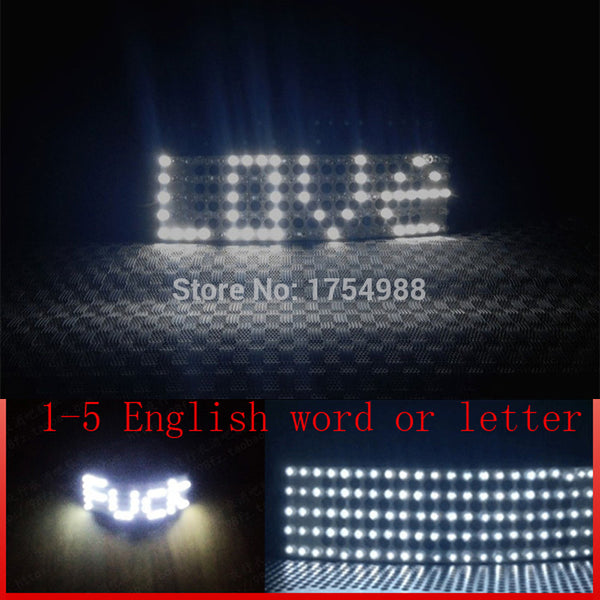 Free shipping  DIY Custom LOVE led glasses event party for led party glasses party decoration Event Party Supplies