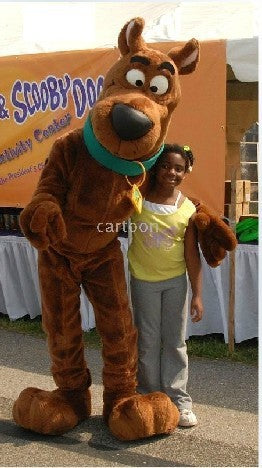 Hot Scooby Doo Mascot Costume Adult Fancy Dress Party Outfit Free Shipping Scooby Doo dog Mascot Costume Fast Shipping - LADSPAD.COM