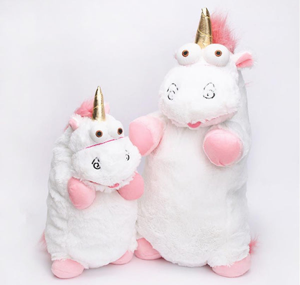 56cm 40cm 18cm 15cm Fluffy Unicorn Plush Toy Soft Stuffed Animal Unicorn Plush Dolls Juguetes de Peluches Bebe - LADSPAD.COM
