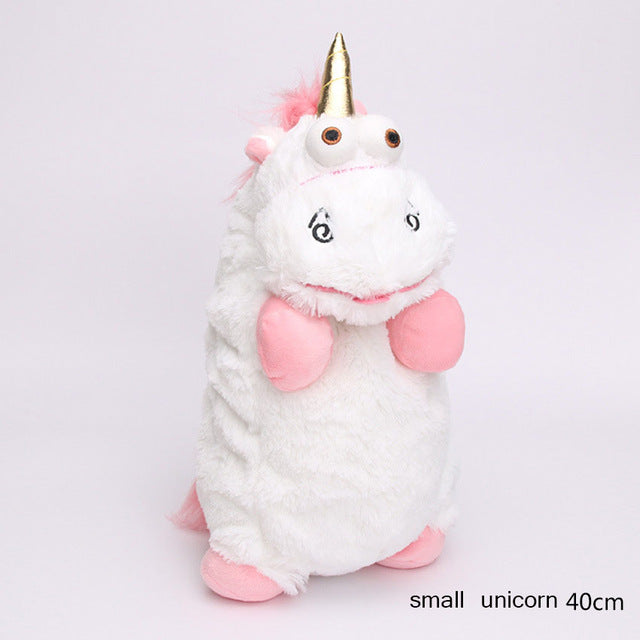 56cm 40cm 18cm 15cm Fluffy Unicorn Plush Toy Soft Stuffed Animal Unicorn Plush Dolls Juguetes de Peluches Bebe - LADSPAD.UK