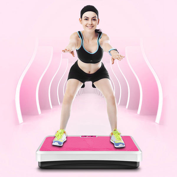 2018 New Brand Pink/ Black Vibration Fitness Massager for keeping health Fitness Equipments Fitness & Body Building - LADSPAD.UK