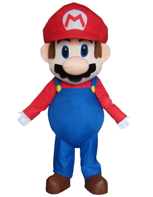 adult costume moveable super mario bros mascot costume Christmas cartoon - LADSPAD.COM