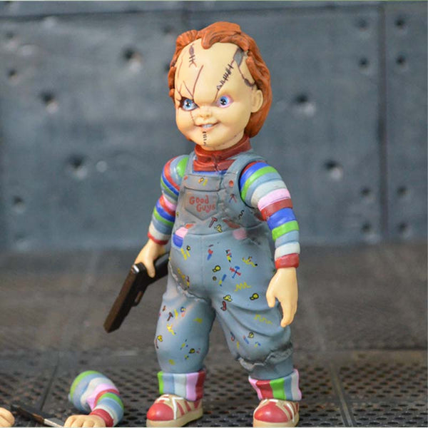 Scary chucky Figure Toys Horror Movies Child's Play Figure Dolls 10cm