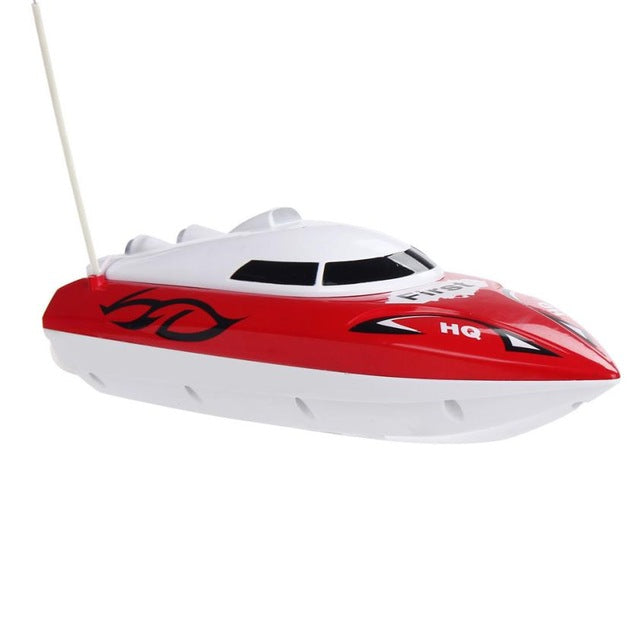 MUQGEW Brand Remote Control Toys 10 inch RC Boats Radio Remote Control 4 Channel 12km/h  RTR Electric Dual Motor Toy Kids Gift - LADSPAD.COM