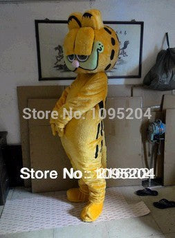 High quality Garfield mascot costume Christmas party carnival bizarre dress adult size free delivery - LADSPAD.COM